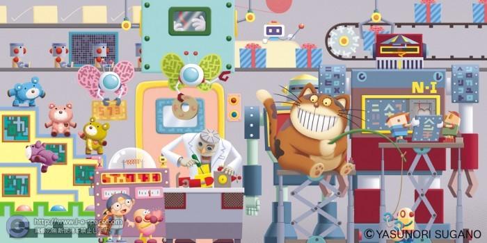 おもちゃ工場