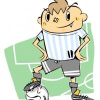 サッカー少年(アルゼンチン)