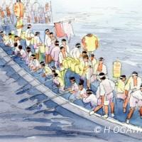 天神祭どんどこ船