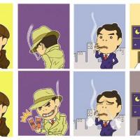 GIFアニメ(2コマ)
