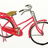 あかい自転車