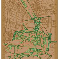 ヘリコプター(ネオンタッチ)