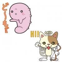 コマナちゃん&にゃんジェル(オリジナルキャラ)