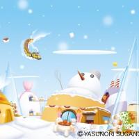 甘い雪の惑星