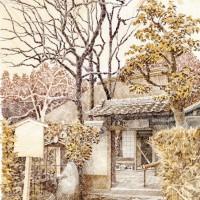 洛柿舎、色鉛筆画