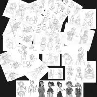 キャラクターデザイン002
