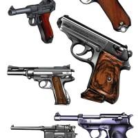 名銃001。