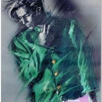 1985~1986年頃作成 連獅子ポスター  NO.2