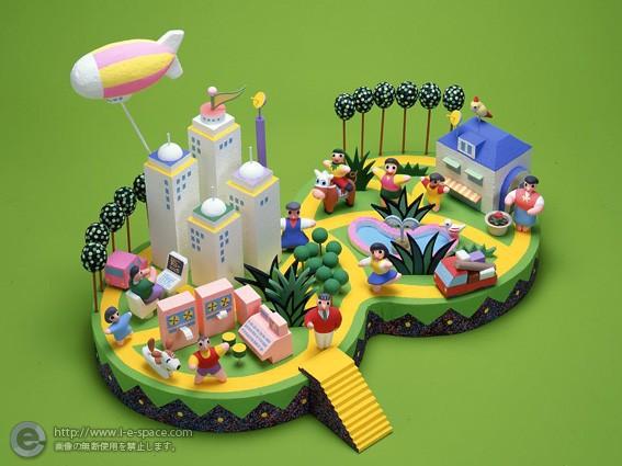 地域活性化モデルポスター