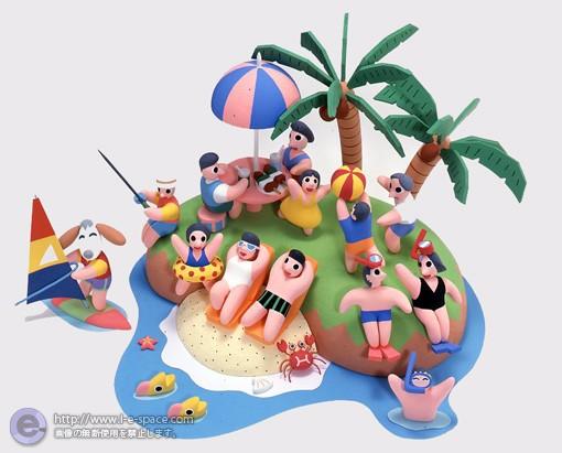 南の島の夏休み