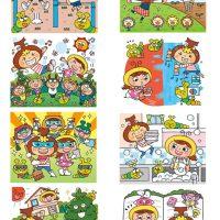 子どもカレンダー2015/芸術生活社