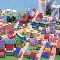 街の俯瞰図