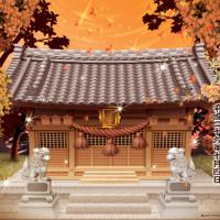 神社修繕記念 イラスト
