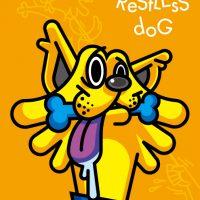 a restless dog