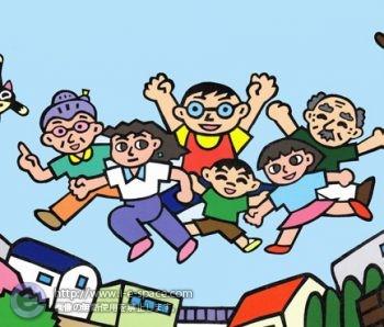 杉並チャリティーウォーク2012ポスター