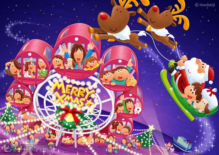クリスマス観覧車