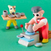 陶芸に挑戦する
