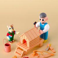 犬小屋を作る