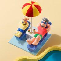 夏のバカンス