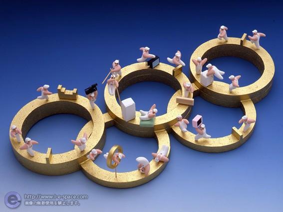 オリンピック家電広告