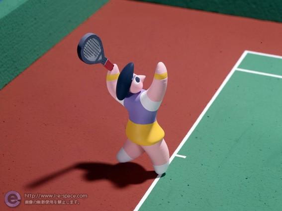 テニスルールポスター02