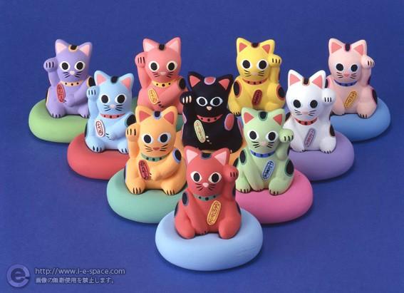招き猫集合
