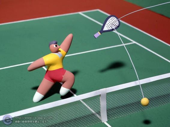 テニスルールポスター04