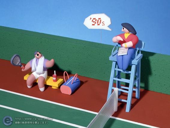 テニスルールポスター07