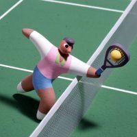 テニスルールポスター08