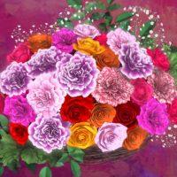 花束 カーネーション