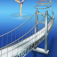 新体操と橋