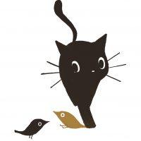 ネコとトリ