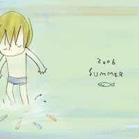 Summer greeting card 2006