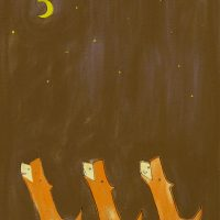 Bark at the moon.