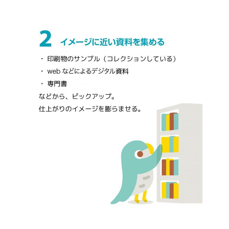 """制作例 """"展覧会のDM"""" 2"""