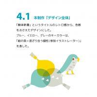 """制作例 """"展覧会のDM"""" 4.1"""