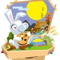 月見ウサギ