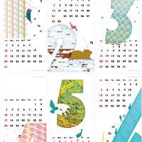 カレンダー 2016年 01-06月