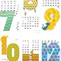 カレンダー 2016年 07-12月