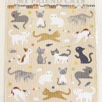 """ポストカード型シール asamidori """"MY FRIEND CATS"""""""