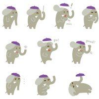 ゾウ  キャラクター