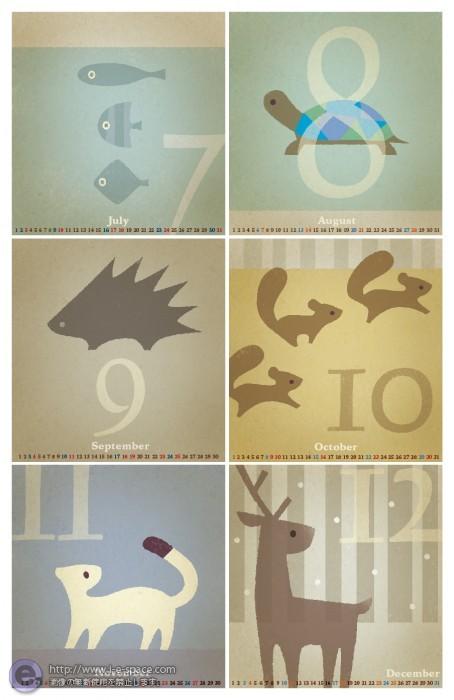 卓上カレンダー 2011_0712