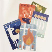 """Christmas Cards"" set"